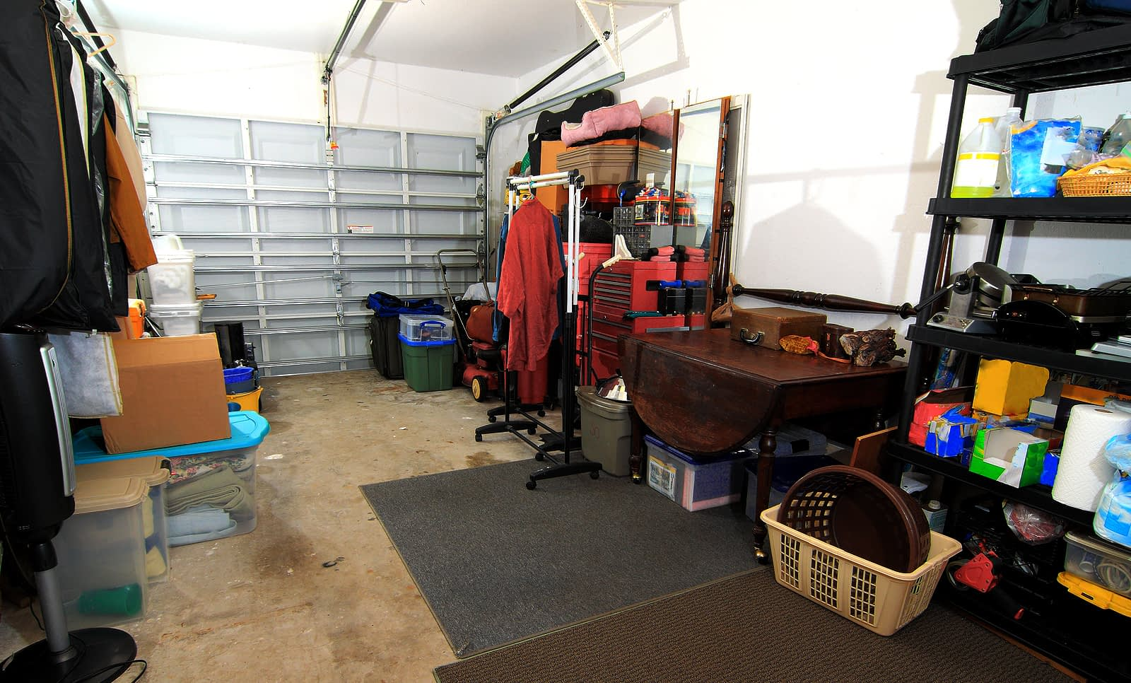 garage organization california