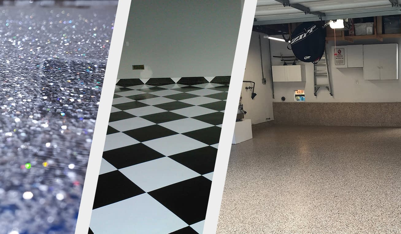 garage epoxy flooring organization systems
